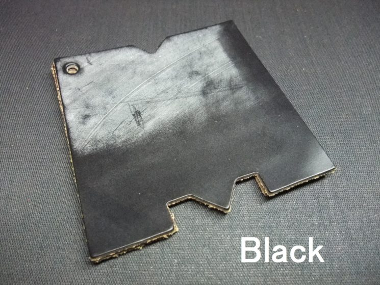 メトロポリタン社のブライドルレザーのブラックカラー画像