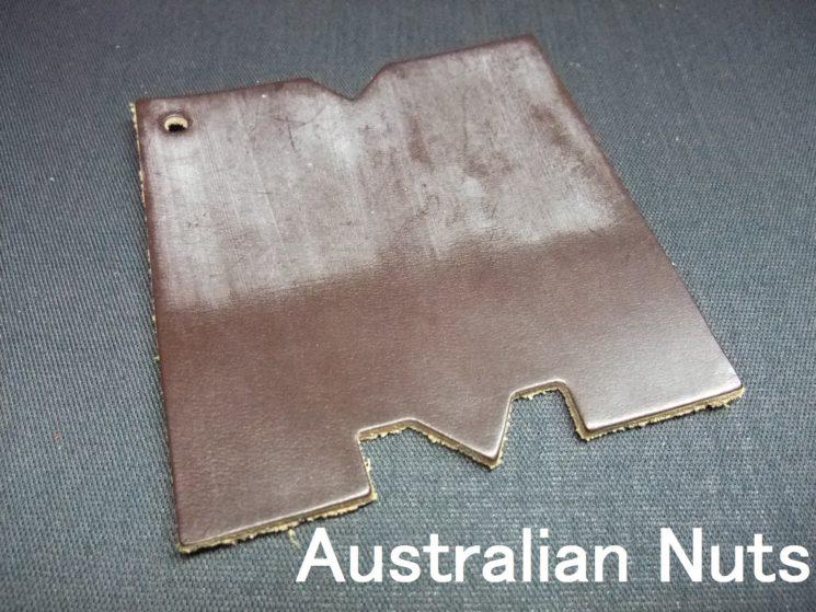 メトロポリタン社のブライドルレザーのオーストラリアンナッツカラーの画像