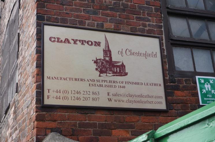 クレイトン社の看板の画像