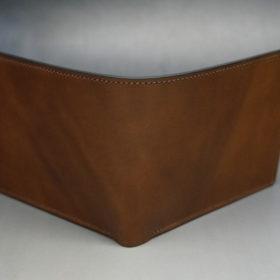 ホーウィンのコードバンのバーボンの二つ折り財布(小銭入れ付き)-2