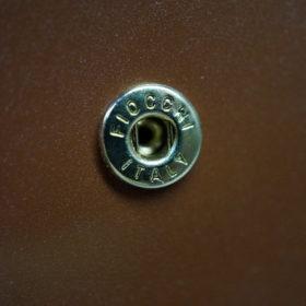 ホーウィンのコードバンのバーボンの二つ折り財布(小銭入れ付き)-10