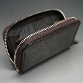 セドウィック社のブライドルレザーのベンズ部位のラウンドファスナー小銭入れ画像9