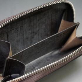 セドウィック社のブライドルレザーのベンズ部位のラウンドファスナー小銭入れ画像10