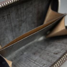 セドウィック社のブライドルレザーのベンズ部位のラウンドファスナー小銭入れ画像11