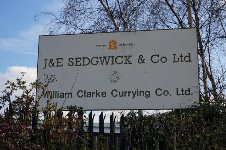 セドウィック社の看板画像