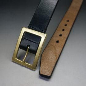 J.ベイカー社のブライドルレザーのブラックカラーのSサイズのベルト画像2
