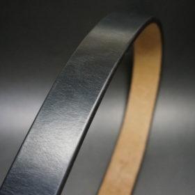 J.ベイカー社のブライドルレザーのブラックカラーのSサイズのベルト画像3