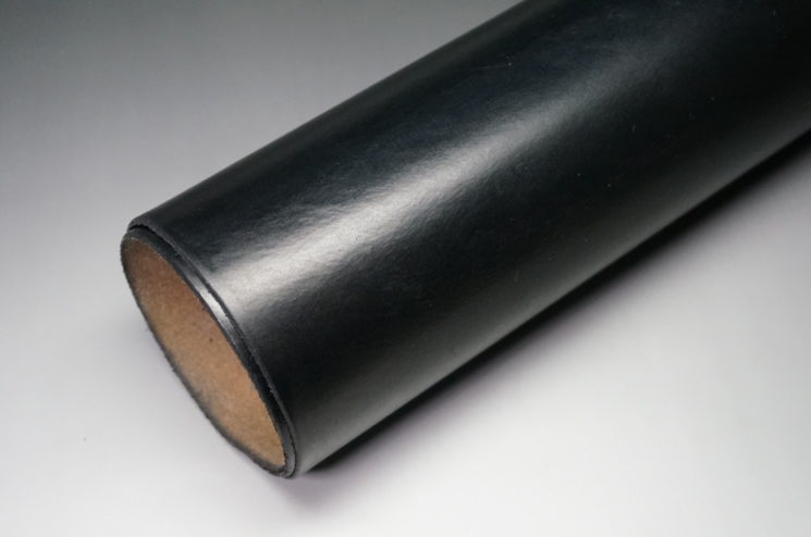 J.ベイカー社のブライドルレザーのブラックカラーの画像2