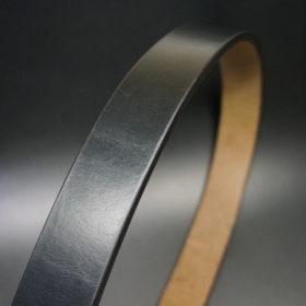 J.ベイカー社のブライドルレザーのブラックカラーのLサイズのベルト画像3