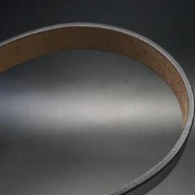 J.ベイカー社のブライドルレザーのブラックカラーのLサイズのベルト画像8