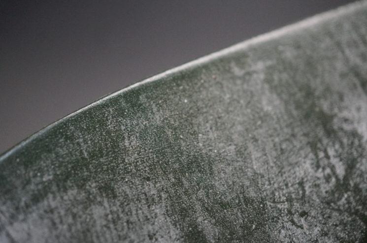 トーマスウエア社のブライドルレザーのダークグリーンカラーの画像