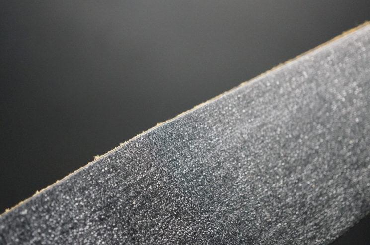 クレイトン社のブライドルレザーのブラックカラーの画像