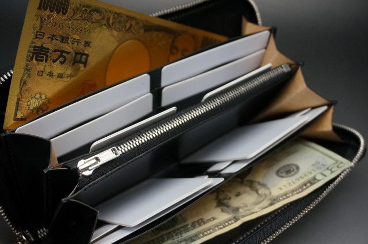 ラウンドファスナー長財布の使用イメージの画像