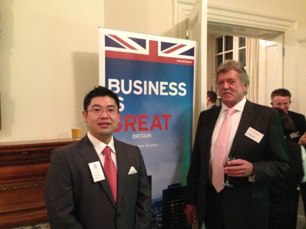 英国大使館でのレセプション画像