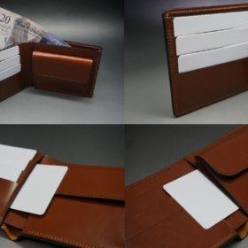 二つ折り財布(小銭入れ付き)のご使用イメージ画像