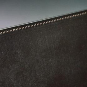 A5判手帳カバーのチョコのステッチ