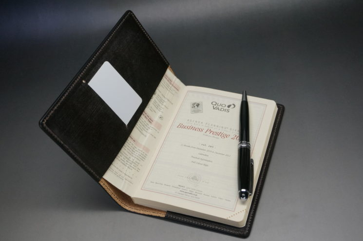 クオバディス用の手帳カバー