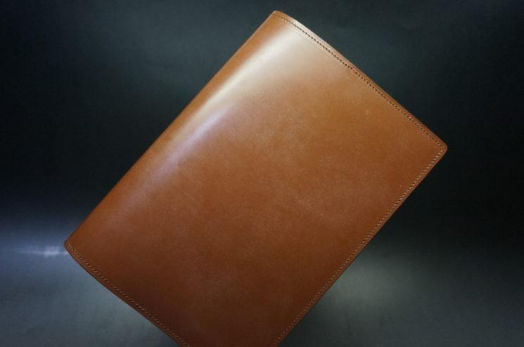 セドウィック社製ブライドルレザーのヘーゼルブラウンのA5判手帳カバー