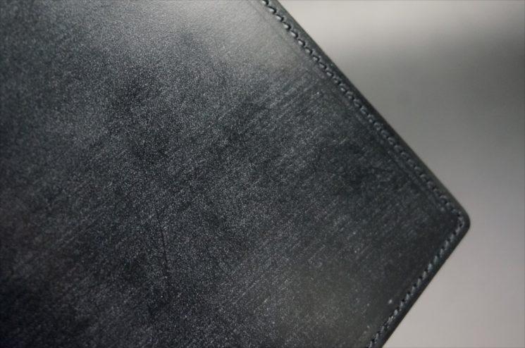 A5判手帳カバーのブラックカラーのブルーム