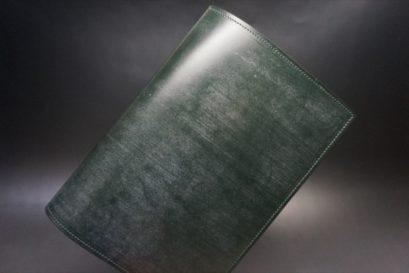 A5判手帳カバーのダークグリーンのアイキャッチ画像