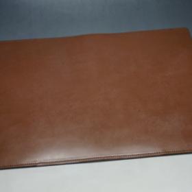 A5判手帳カバーのヘーゼルカラーの外側フラット