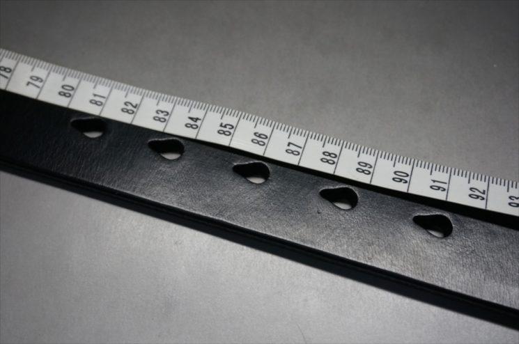 ベルトの長さの測り方-2