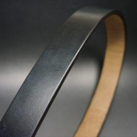 J.ベイカー社製ブライドルレザーのブラックのゴールドバックルのベルトのSサイズの帯