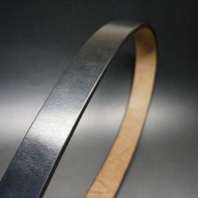 J.ベイカー社製ブライドルレザーのブラックのゴールドバックルのベルトのLLサイズの帯