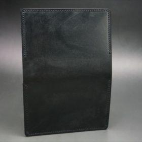 メトロポリタン社製ブライドルレザーのベンズ部位のブラックの名刺入れ-1-6