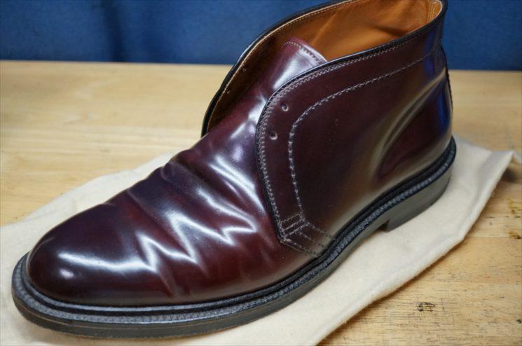 ホーウィン社製コードバンのブーツ
