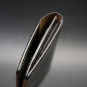 セドウィック社製ブライドルレザーのチョコ色の名刺入れ-1-5