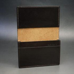 セドウィック社製ブライドルレザーのチョコ色の名刺入れ-1-7