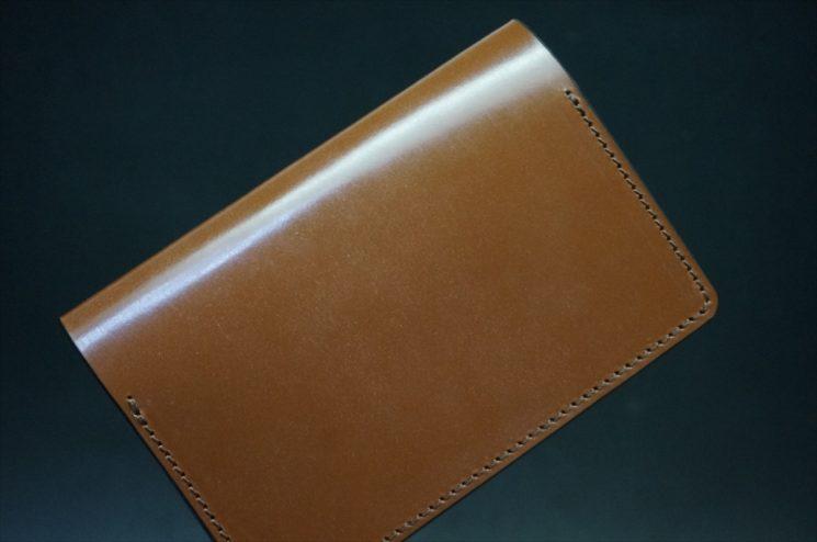 セドウィック社製ブライドルレザーのヘーゼルブラウン色の名刺入れ-1-1