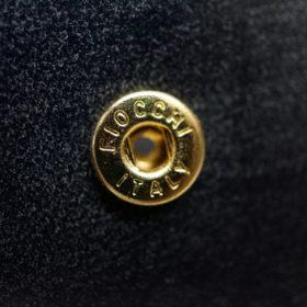 セドウィック社製ブライドルレザーのネイビー色の二つ折り財布(小銭入れ付き)-1-11
