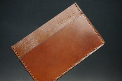ホーウィン社製シェルコードバンの#4色のカードケース-1-1