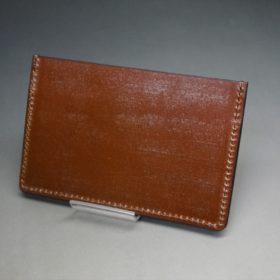 ホーウィン社製シェルコードバンの#4色のカードケース-1-4