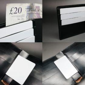 二つ折り財布(小銭入れなし)タイプのご使用イメージ画像