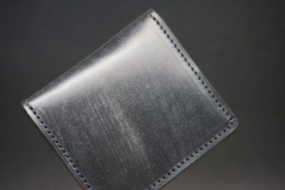 メトロポリタン社製ブライドルレザーのベンズ部位のブラック色の小銭入れ(ゴールド色)-1-1