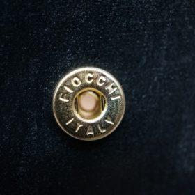 メトロポリタン社製ブライドルレザーのベンズ部位のブラック色の小銭入れ(ゴールド色)-1-11
