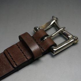 J.ベイカー社製ブライドルレザーのクイックリリースベルトのご使用サンプル-1