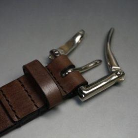 J.ベイカー社製ブライドルレザーのクイックリリースベルトのご使用サンプル-2