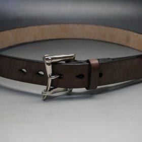 J.ベイカー社製ブライドルレザーのクイックリリースベルトのご使用サンプル-3