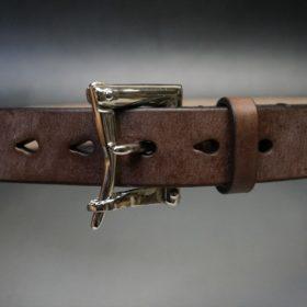 J.ベイカー社製ブライドルレザーのクイックリリースベルトのご使用サンプル-4