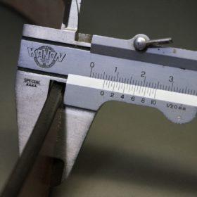 J.ベイカー社製ブライドルレザーのダークブラウン色の40mmベルト(ビジネス&カジュアルバックル/ゴールド色/S)-1-10