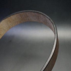 J.ベイカー社製ブライドルレザーのダークブラウン色の40mmベルト(ビジネス&カジュアルバックル/ゴールド色/S)-1-9