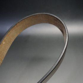 J.ベイカー社製ブライドルレザーのダークブラウン色の40mmベルト(ビジネス&カジュアルバックル/ゴールド色/M)-1-10