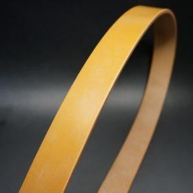 セドウィック社製ブライドルレザーのベンズ部位ロンドンタン色の35mmベルト(ビジネスバックル/シルバー色/L)-1-3