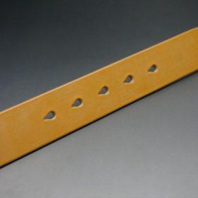 セドウィック社製ブライドルレザーのベンズ部位ロンドンタン色の35mmベルト(ビジネスバックル/シルバー色/L)-1-8