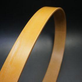 セドウィック社製ブライドルレザーのベンズ部位ロンドンタン色の35mmベルト(ビジネスバックル/シルバー色/S)-1-3