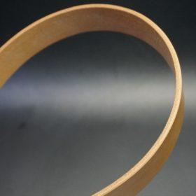 セドウィック社製ブライドルレザーのベンズ部位ロンドンタン色の35mmベルト(ビジネスバックル/シルバー色/S)-1-9